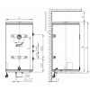 Spiro OW-E 80.12 P NIBE, бойлер косвенного нагрева Эван