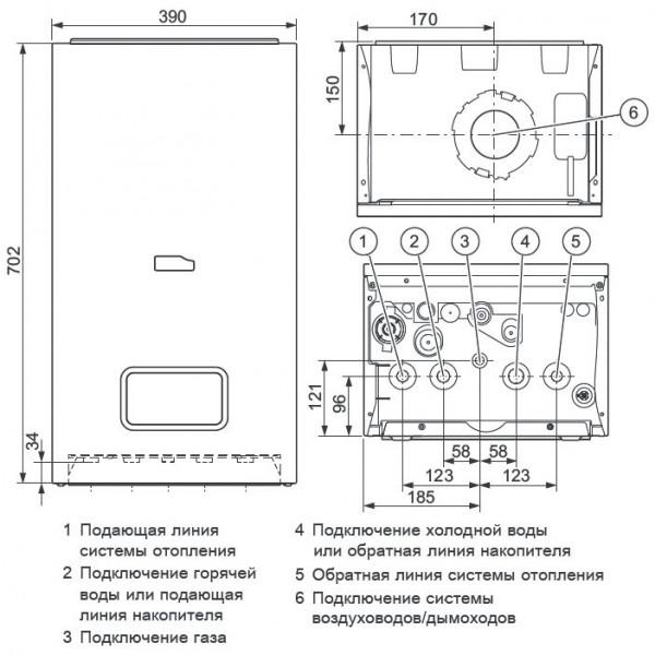 Protherm Рысь K 25 MKO, Настенный конденсационный котёл Протерм