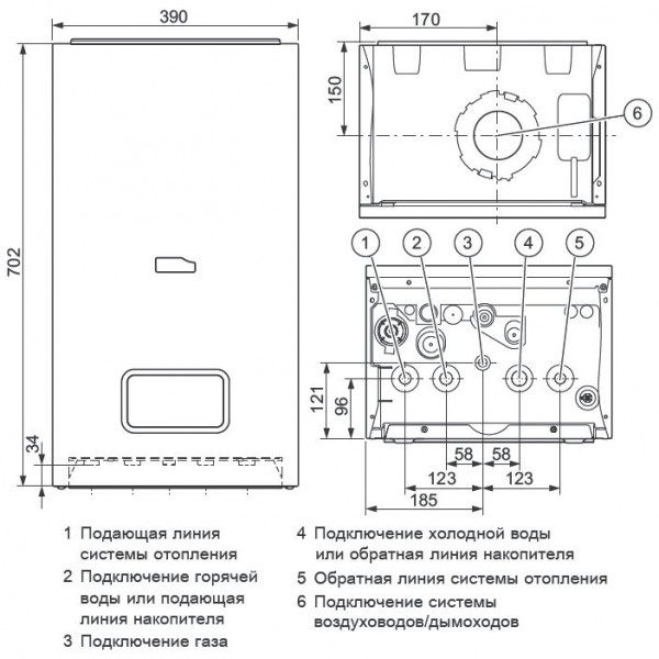 Protherm Рысь K 30 MKO, Настенный конденсационный котёл Протерм