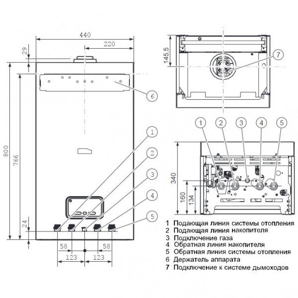 Protherm Пантера 12 KTO, Настенный газовый котёл Протерм