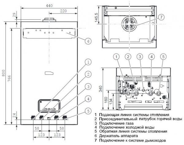 Protherm Пантера 35 КTV, Настенный газовый котёл Протерм