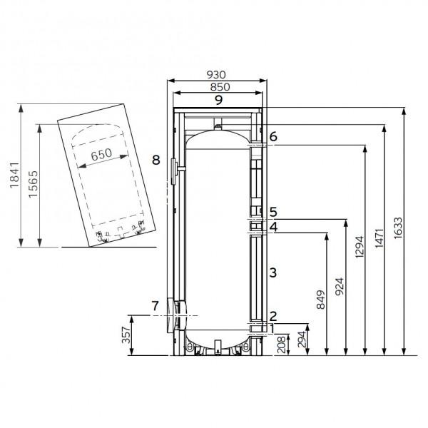 Vaillant uniSTOR VIH R 400/3 MR (exclusive), Ёмкостный водонагреватель Вайлант