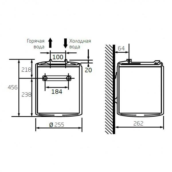 Baxi EVN R 501 SL, Электрический водонагреватель Бакси