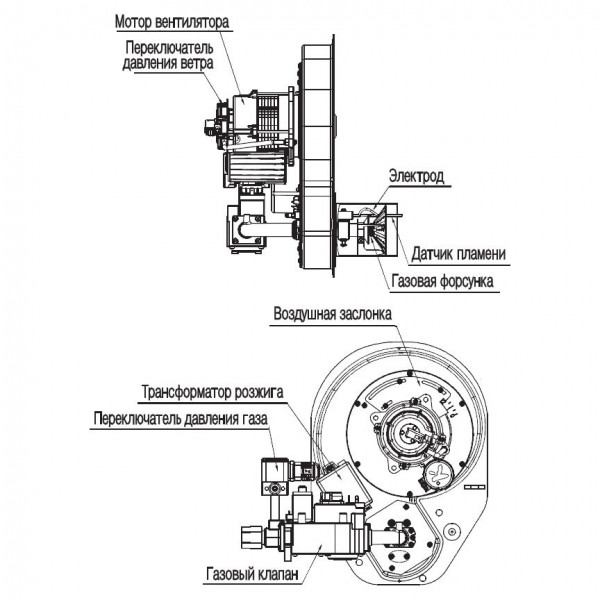Navien GST-55K White, Газовый напольный котёл Навьен
