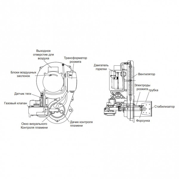Kiturami STSG-21R, Газовый напольный котёл Китурами