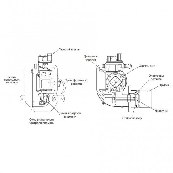 Kiturami STSG-25R, Газовый напольный котёл Китурами