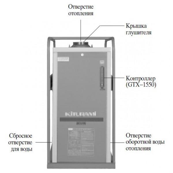 Kiturami KSG-100R, Газовый напольный котёл Китурами