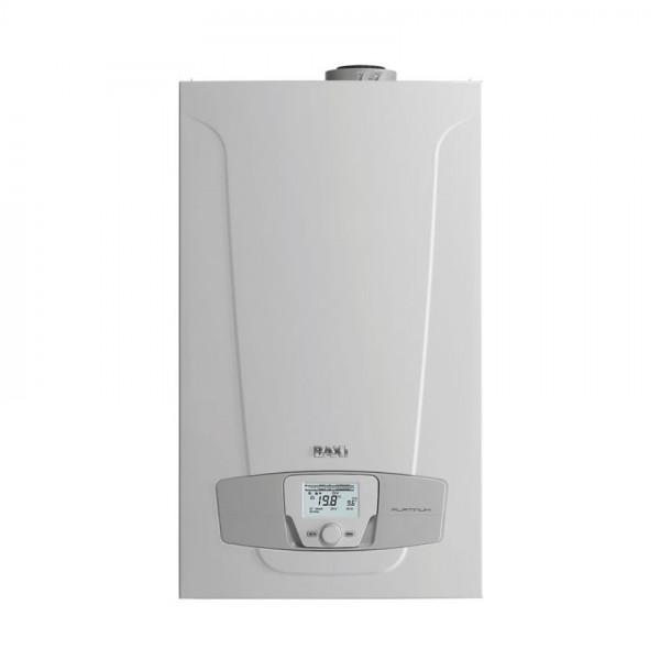 Baxi LUNA Platinum+ 1.24 + COMBI, Газовый конденсационный котёл Бакси с внешним бойлером для горячей воды