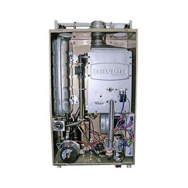 Navien Ace-16K Coaxial Silver, Газовый настенный котёл Навиен