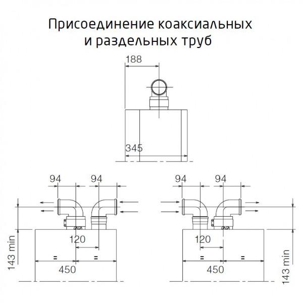 Baxi LUNA-3 310 Fi, Газовый настенный котёл Бакси