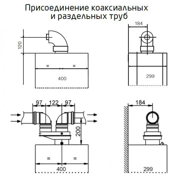 Baxi MAIN-5 24 F, Газовый настенный котёл Бакси