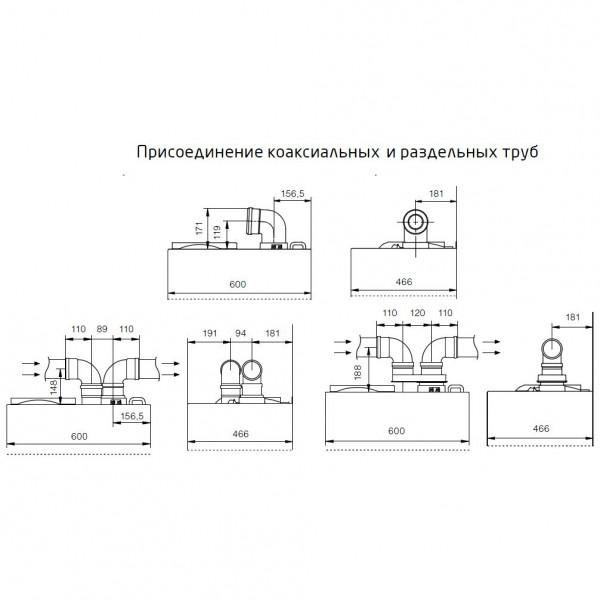 Baxi NUVOLA Duo-tec+ 16 GA, Настенный газовый конденсационный котёл Бакси