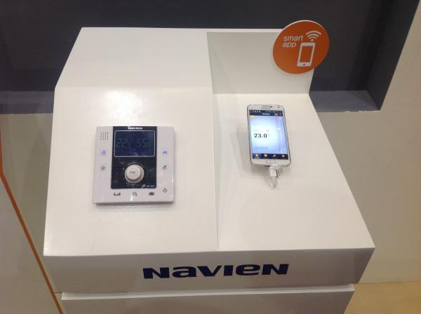 Navien Smart Tok 13K, Газовый настенный котёл Навьен