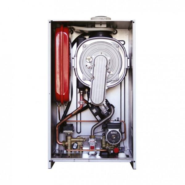 Baxi LUNA Duo-tec+ 1.28 + COMBI, Газовый конденсационный котёл Бакси с внешним бойлером для горячей воды