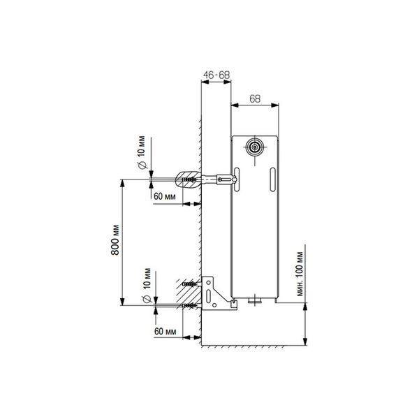 Vaillant V-21-900-800, Стальной панельный радиатор Вайлант