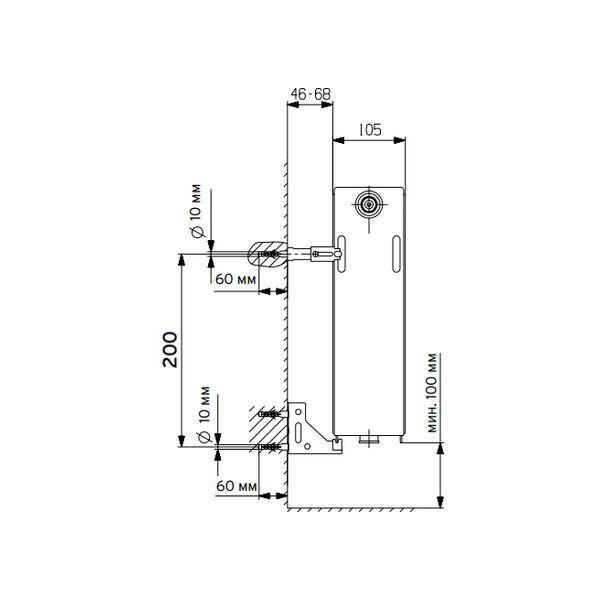 Vaillant V-22-300-1200, Стальной панельный радиатор Вайлант