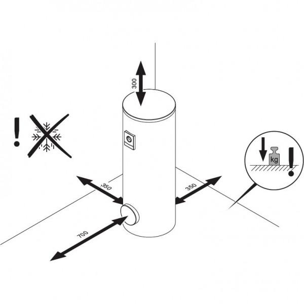 Vaillant uniSTOR VIH R 300/3 MR (exclusive), Ёмкостный водонагреватель Вайлант