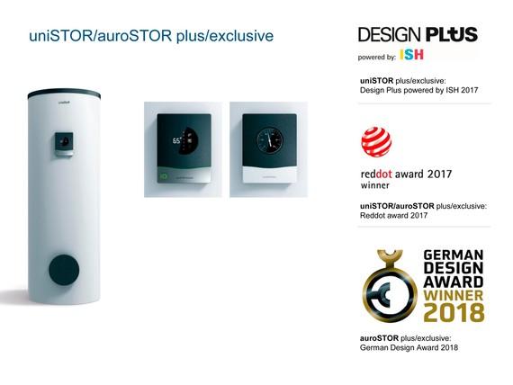 Новинки uniSTOR /auroSTOR получили престижные премии в области дизайна