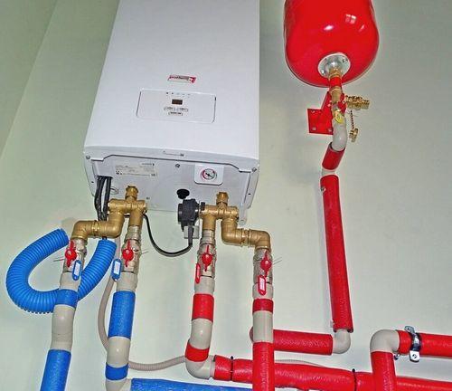 Компоненты системы отопления