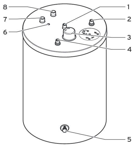 Конструкция бойлера Protherm FE 200/6 BM