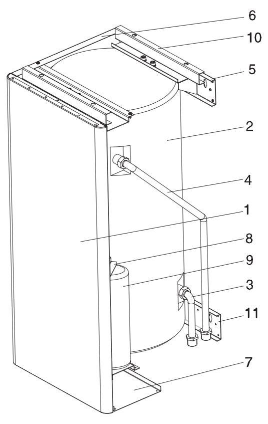 Конструкция бойлера Protherm WH B60 Z