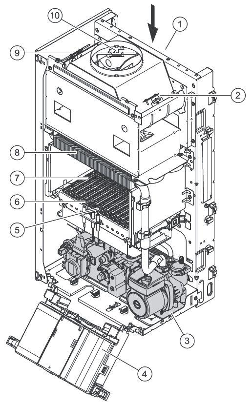Конструкция котла Protherm Гепард 12 MOV
