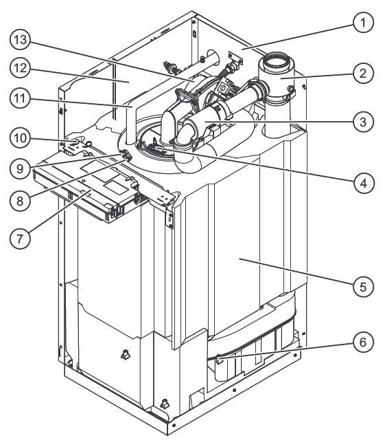 Конструкция котла Vaillant ecoVIT/5 VKK INT 186/5