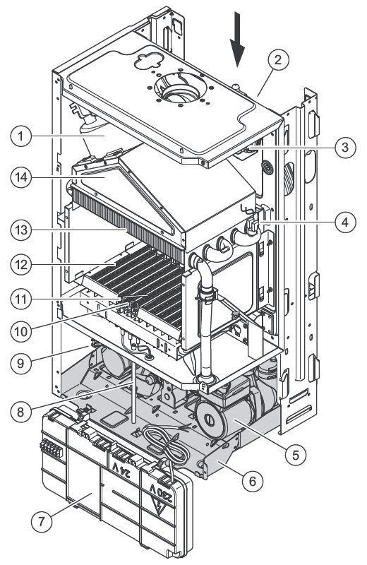 Конструкция котла Vaillant turboFIT VUW 242/5-2