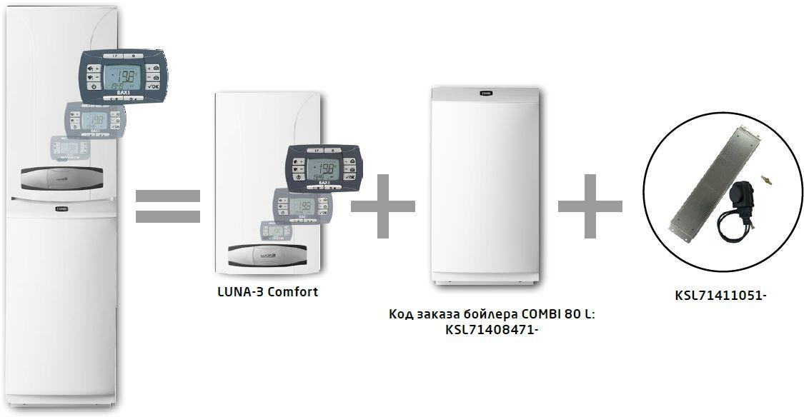 Baxi LUNA-3 Comfort COMBI 1.310 Fi+COMBI