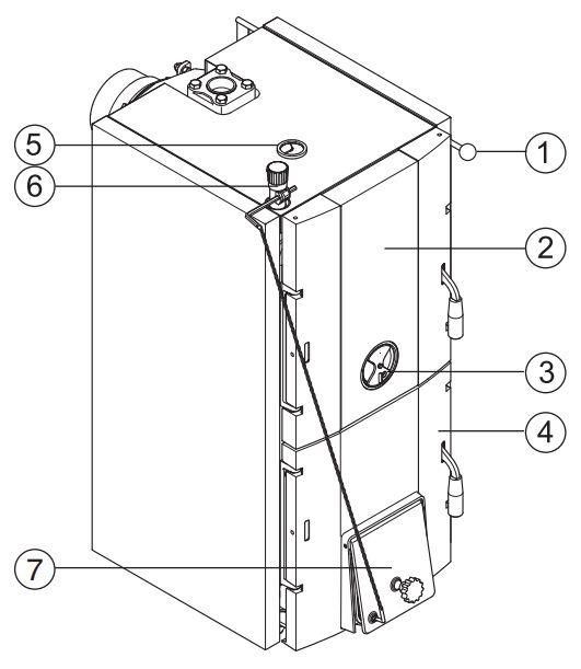 Конструкция котла Buderus Logano G221-32