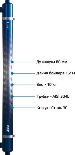 Особенности и преимущества бойлера АН-1 «Игла»